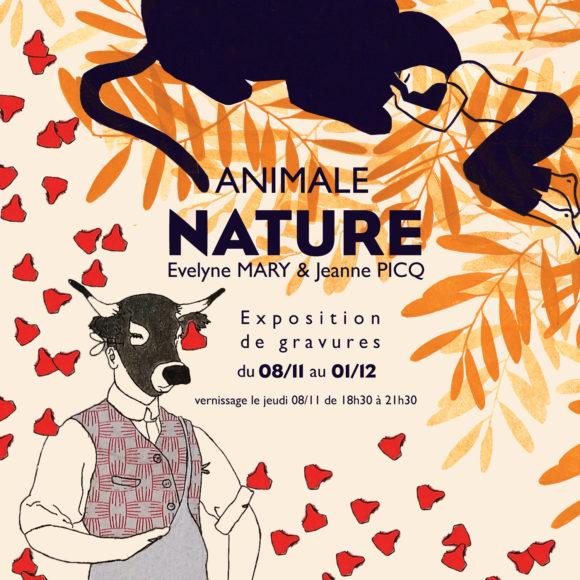 «animale nature» à la Slow Galerie