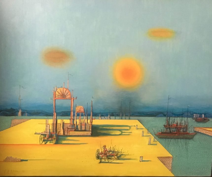 Jean Carzou, Galerie Lise Cormery