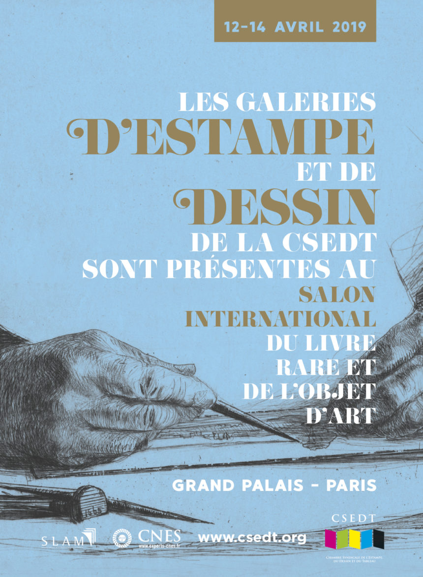 La CSEDT est au Grand Palais, Paris, 12-14 avril 2019