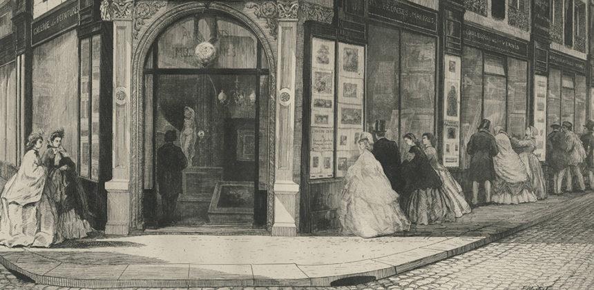Réouverture des galeries d'art