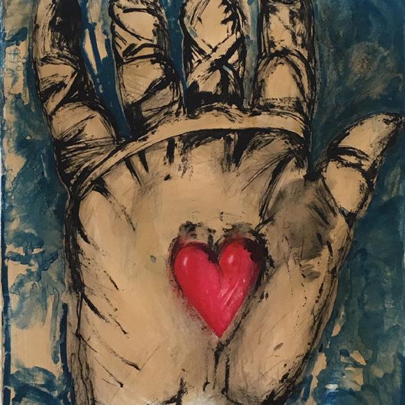 Jim Dine, Galerie Baudoin Lebon