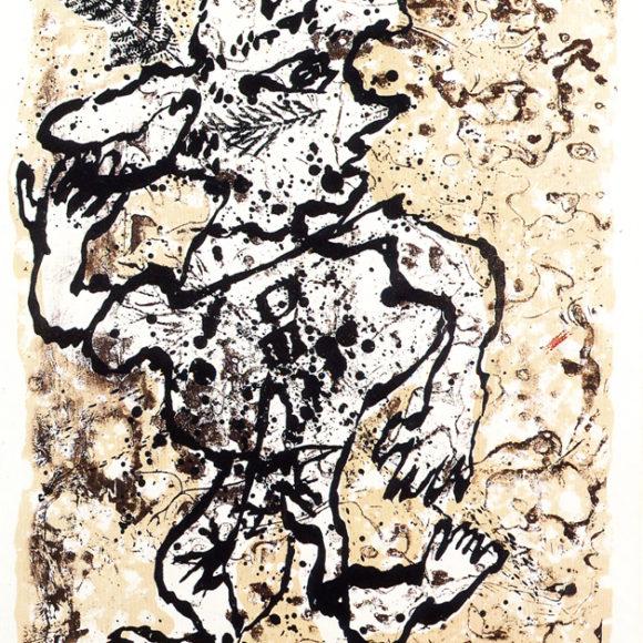 Exposition Dubuffet-graveur, Galerie Baudoin Lebon