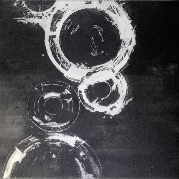 Exposition Œuvres au noir d'Ines Diarte, Galerie Christian Collin