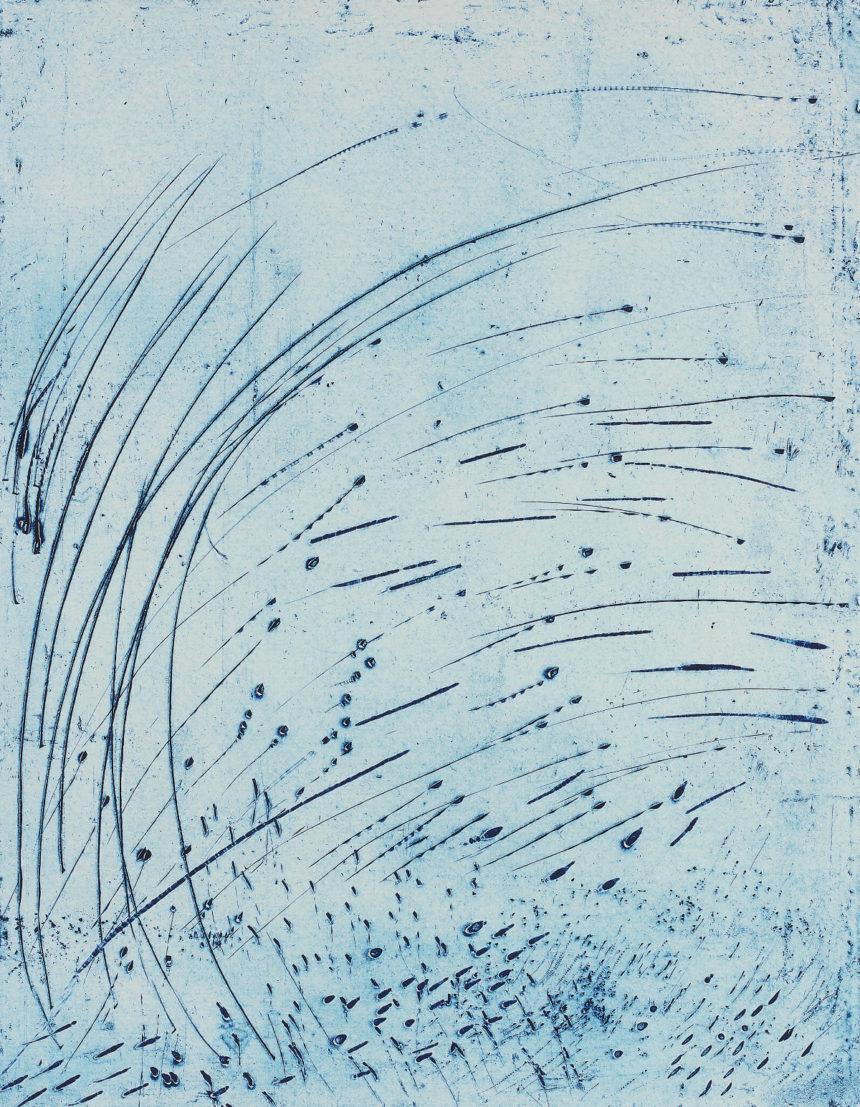 Alcôve en forêt, exposition d'Annie Warnier, Galerie Sagot-Le Garrec