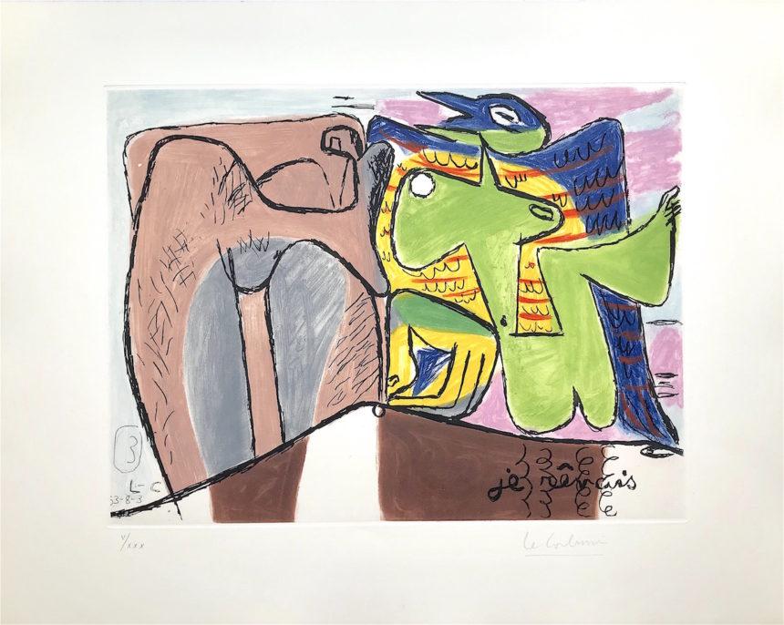 Exposition «Le Corbusier, Unité», Galerie Arenthon, Paris
