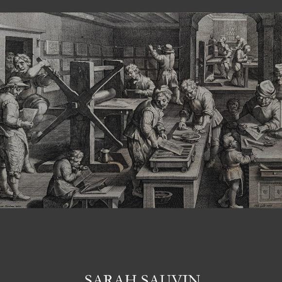 Nouveau catalogue, Galerie Sarah Sauvin