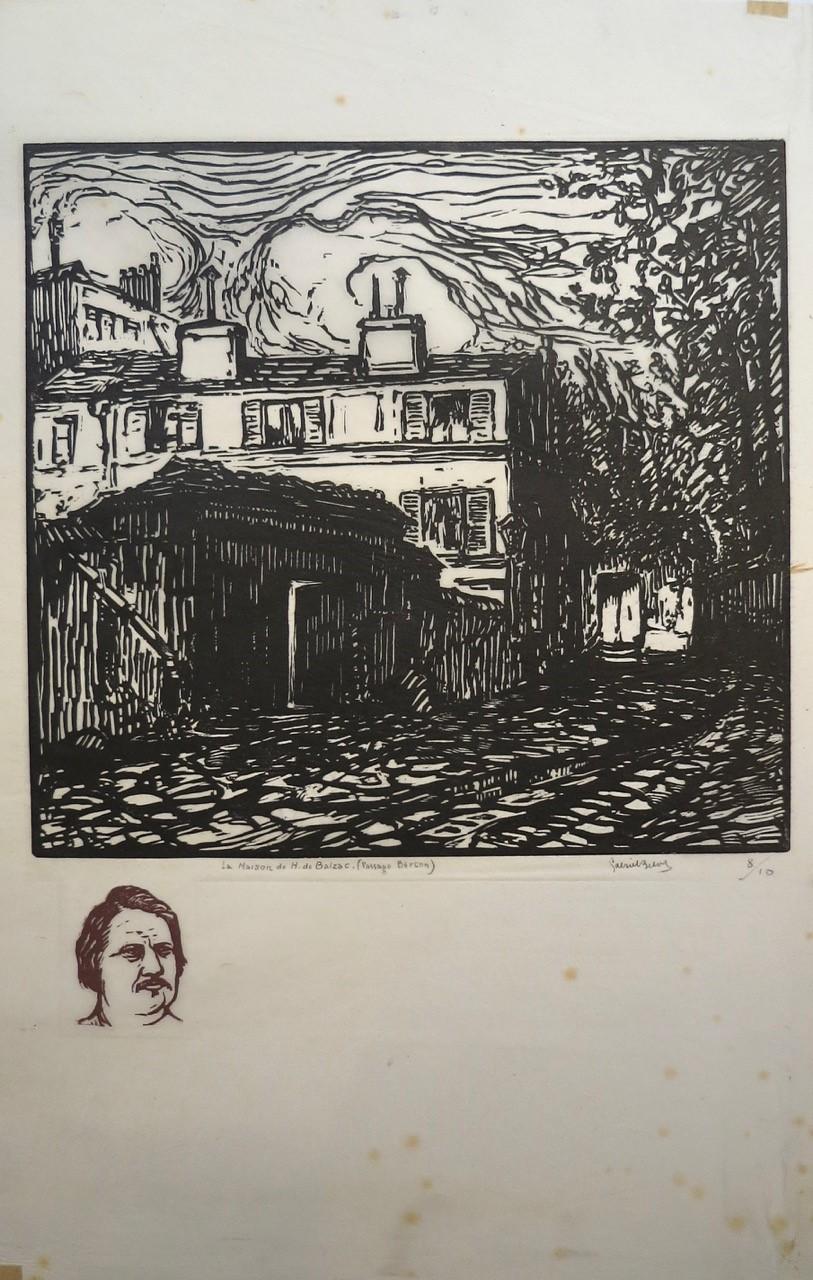 Monographie sur Gabriel Belot, peintre, graveur, poète