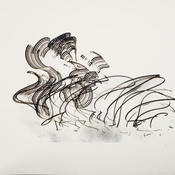 Exposition Hans Hartung, Galerie Arenthon