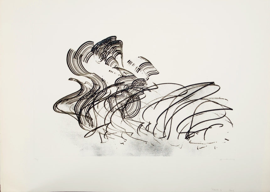 Exposition Hans Hartung, Galerie Arenthon