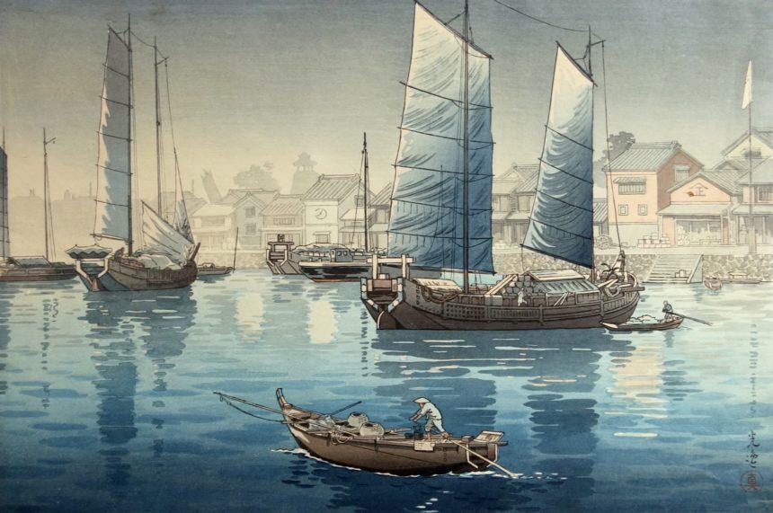 Nouvelles acquisitions, estampes japonaises, Galerie Christian Collin