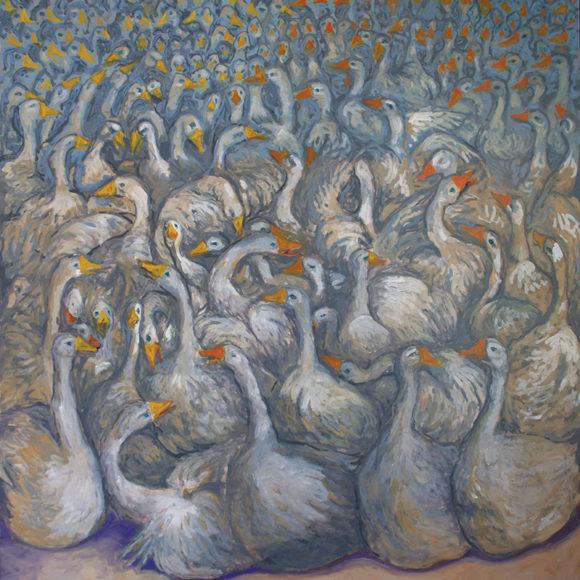 Exhibition Cyr Boitard's paintings, the Nathalie Béreau Gallery