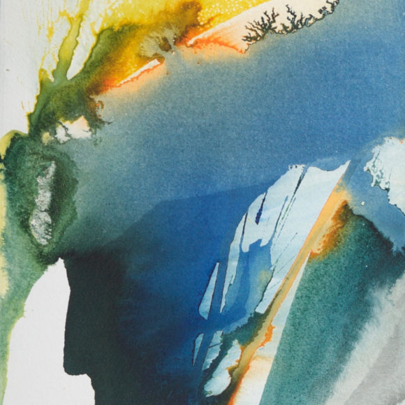Exposition Paul Jenkins, Galerie Arenthon