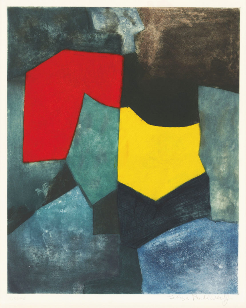Exposition Poliakoff, Galerie Le Coin des Arts