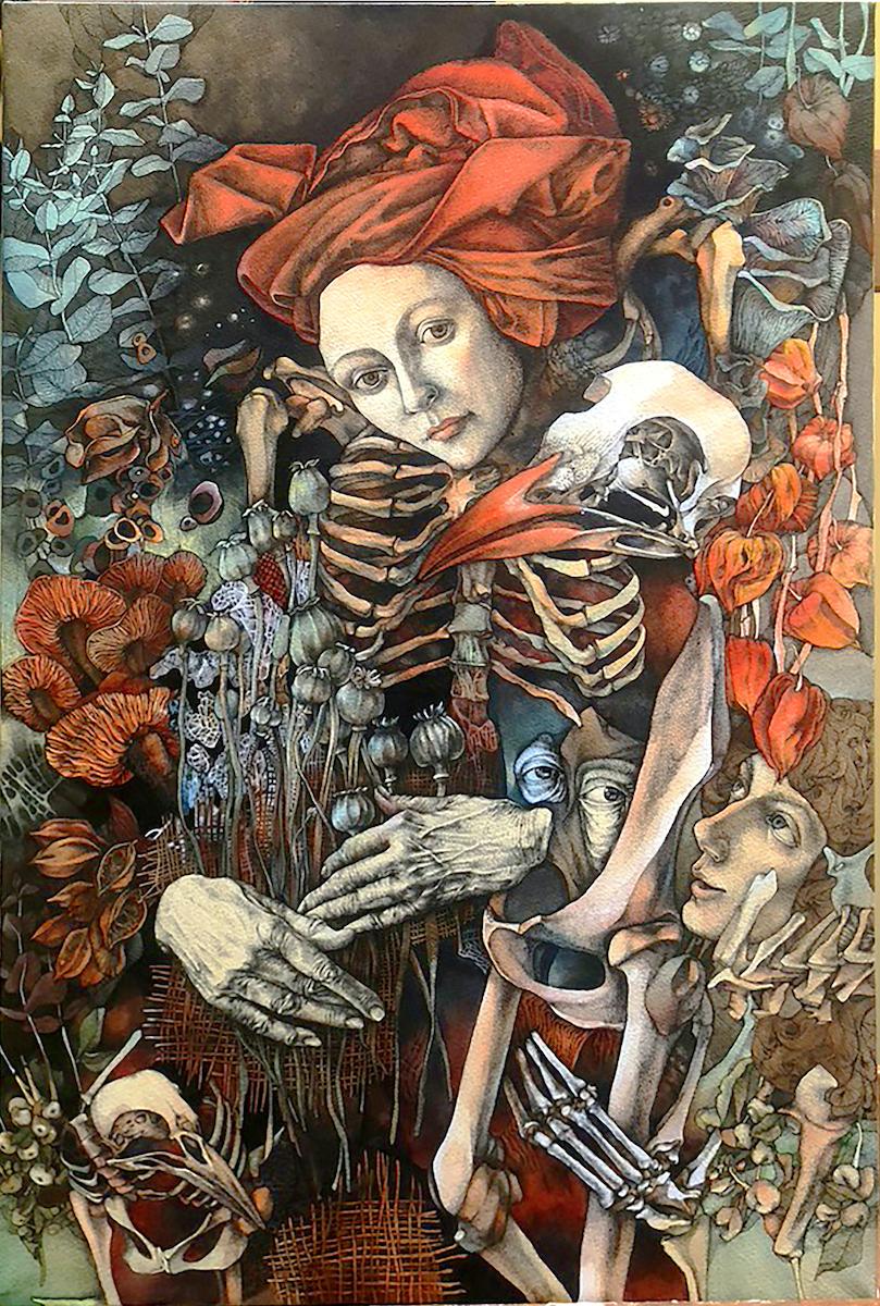 Exposition Olena Donichenko, Galerie Martinez D.