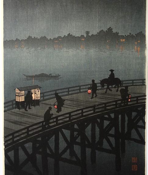 Dernières acquisitions, estampes japonaises, Galerie Christian Collin