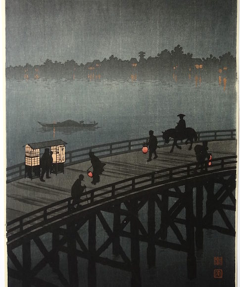 Latest acquisitions, japanese prints, Christian Collin Gallery