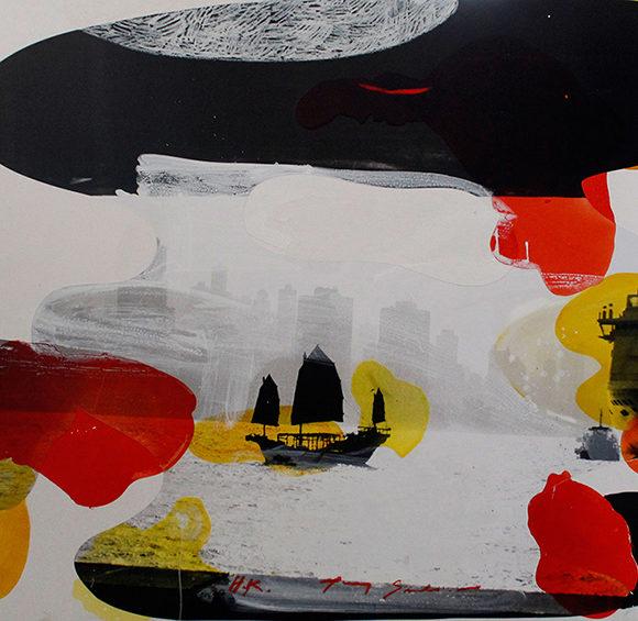 Exposition de Tony Soulié à l'Estampe
