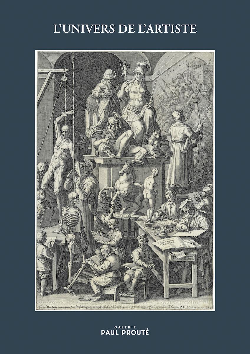 Nouveau catalogue de la Galerie Paul Prouté le 20 avril