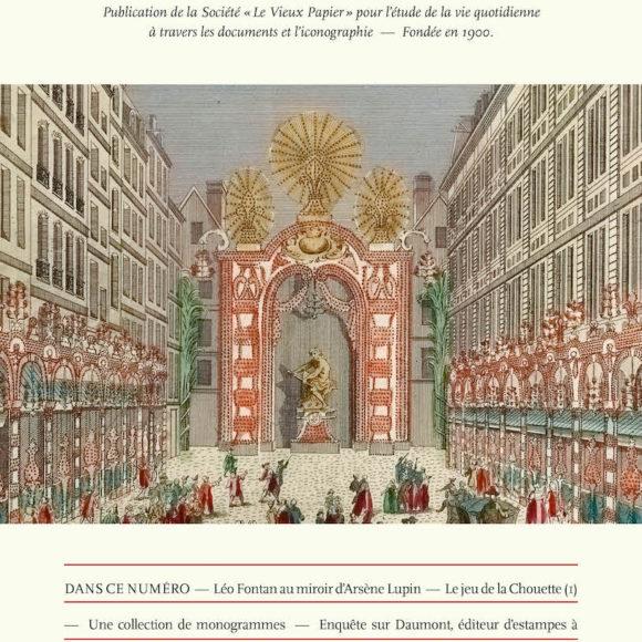 A découvrir : Revue Le Vieux Papier n°440