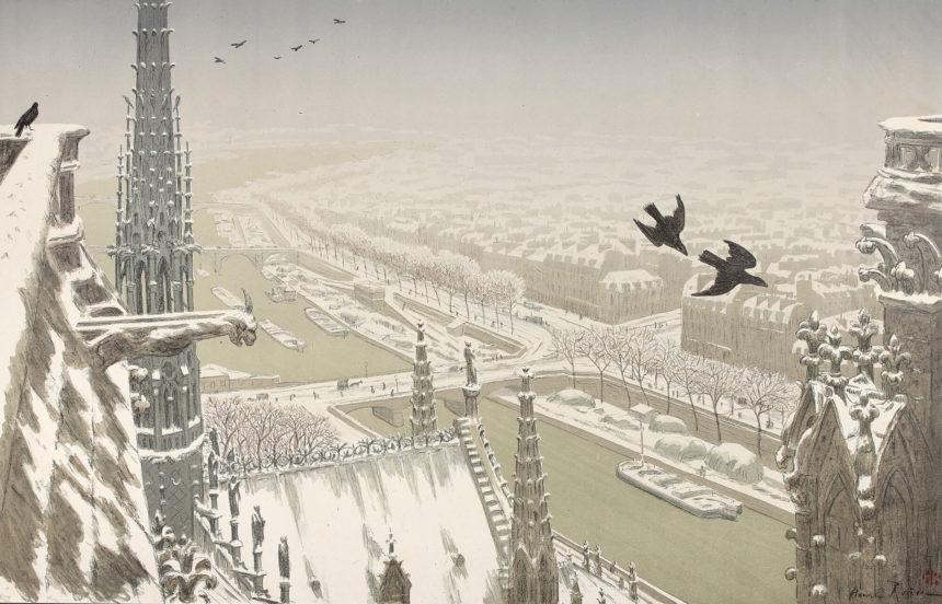 Exposition Notre Dame de Paris, Galerie Sagot – Le Garrec