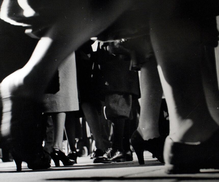 """""""Sidewalk"""" de Lisette Model, galerie baudoin lebon"""