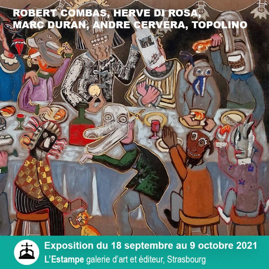 Exposition Figuration Libre, Galerie l'Estampe