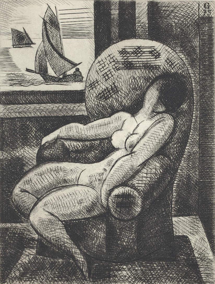 Exposition Les nus de Marcel Gromaire, Galerie Sagot – Le Garrec